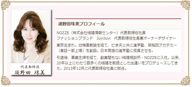 ノッツェ経営者の情報