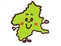 群馬県のイラスト画像