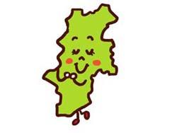 長野県のイラスト画像