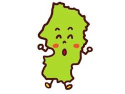 山形県のイラスト画像